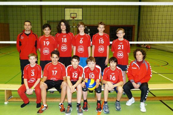 Volleyball U16m 2014 2